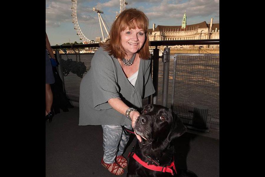 Lesley at London Southbank